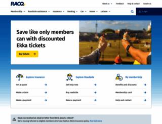 racq.com.au screenshot