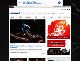 rad-net.de screenshot