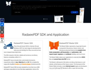 radaeepdf.com screenshot