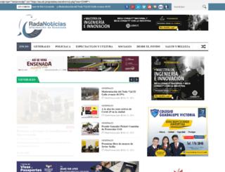 radanoticias.info screenshot