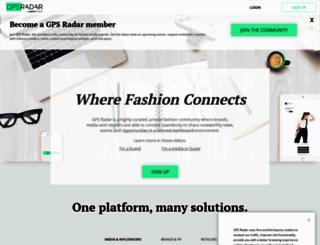 radar.fashiongps.com screenshot