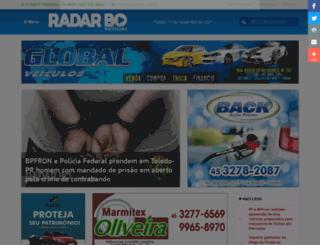 radarbo.com.br screenshot