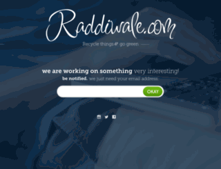 raddiwale.com screenshot