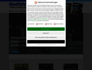 radfahren.de screenshot