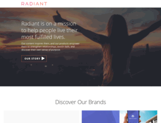 radiant.org screenshot