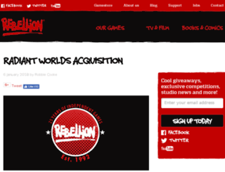 radiantworlds.com screenshot