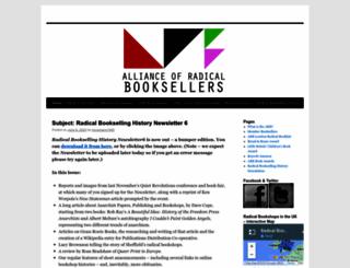 radicalbooksellers.co.uk screenshot