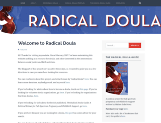 radicaldoula.com screenshot