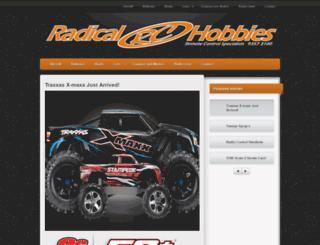 radicalrchobbies.com.au screenshot