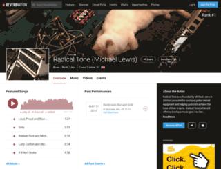 radicaltone.com screenshot