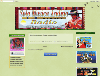 radio-andina.blogspot.com screenshot