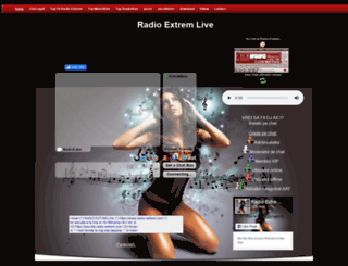 radio-extrem.com screenshot
