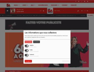 radio-isa.com screenshot