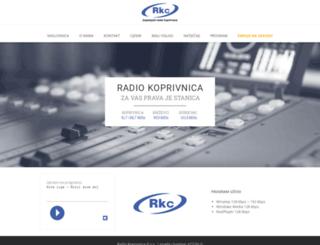 radio-koprivnica.hr screenshot
