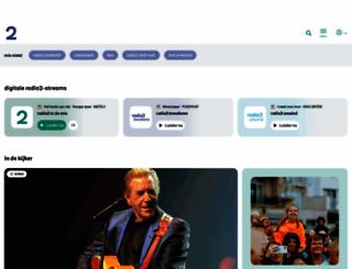 radio2.be screenshot