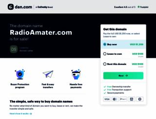 radioamater.com screenshot