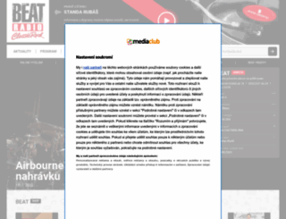 radiobeat.cz screenshot