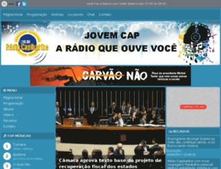 radiocapibaribe.com.br screenshot