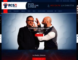 radiocastelluccio.it screenshot