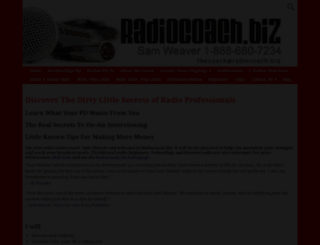 radiocoach.biz screenshot