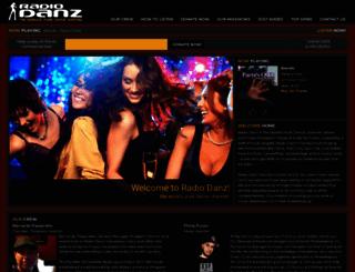 radiodanz.com screenshot