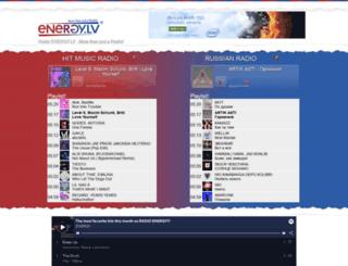radioenergy.lv screenshot