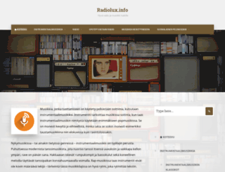 radiolux.fi screenshot