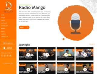 radiomango.fm screenshot