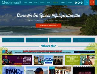 radiomargaritaville.com screenshot