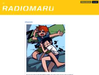 radiomaru.com screenshot