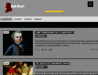 radiomozart.net screenshot
