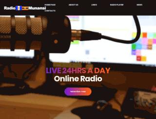 radiomunansi.com screenshot