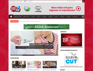 radionoticiasweb.com.ar screenshot