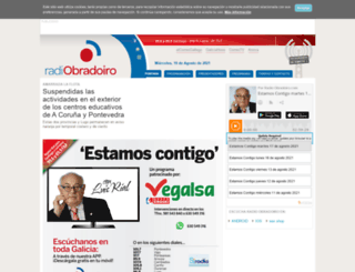 radioobradoiro.com screenshot