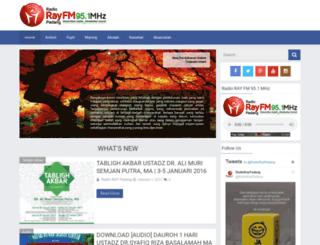 radiorayfm.com screenshot