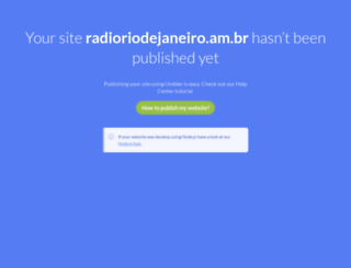 radioriodejaneiro.am.br screenshot