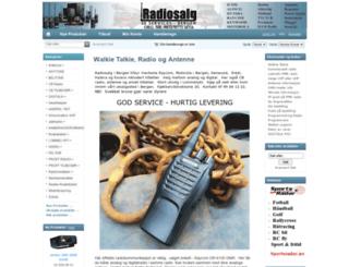 radiosalg.com screenshot