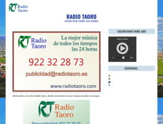 radiotaoro.com screenshot