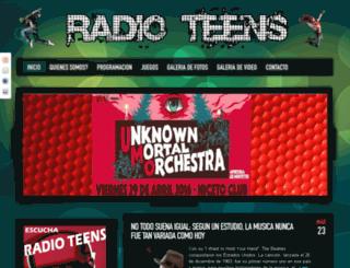 radioteensonline.com screenshot