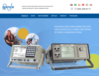 radiotestset.com screenshot