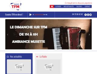 radiotfm.com screenshot