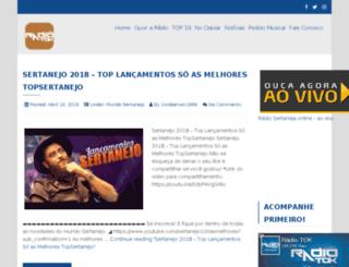 radiotok.com.br screenshot