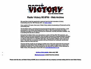 radiovictory.co.uk screenshot