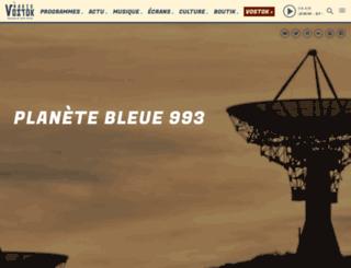 radiovostok.ch screenshot