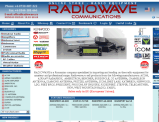 radiowave.ro screenshot