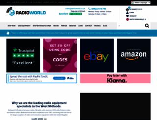 radioworld.co.uk screenshot