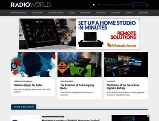 radioworld.com screenshot