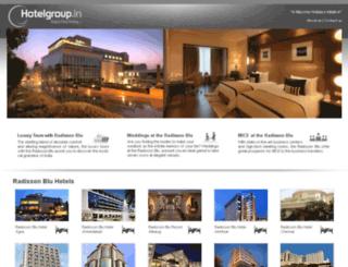 radisson.hotelgroup.in screenshot