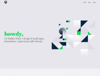 radleymarx.com screenshot