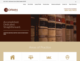 radoranlaw.com screenshot